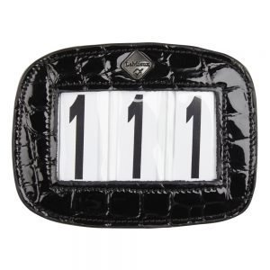 LeMieux-numberholder-croc-rectangle-black-hr