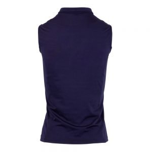 Montar-Charlie-Sleeveless-Polo-Navy-Back-Image