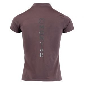 Montar-Melanie-Polo-Grey-Back-Image