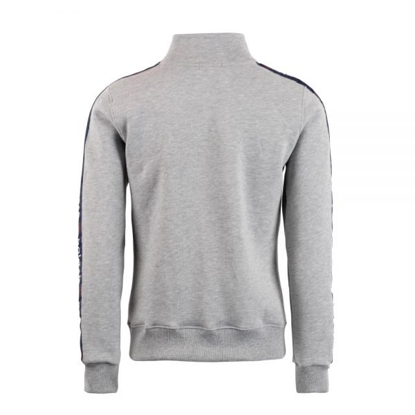Montar-Penelope-Taped-Sweater-Grey-Back-Image