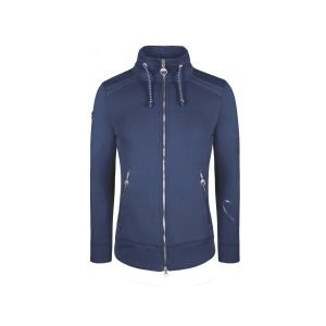 Cavallo-Paula-Ladies-Sweat-Jacket-Darkblue-1