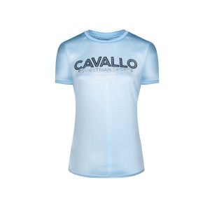 Cavallo-Piper-Ladies-Round-Neck-T-Shirt-Light-Blue-1