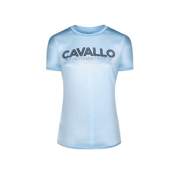 Cavallo-Piper-Ladies-Round-Neck-T-Shirt-Light-Blue-1