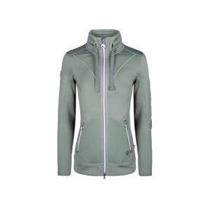 Cavallo-Piri-Ladies-Fleece-Jacket-Light-Pine-2