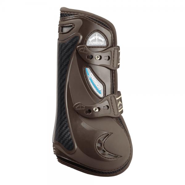 veredus-carbon-gel-vento-front-tendon-boots-brown