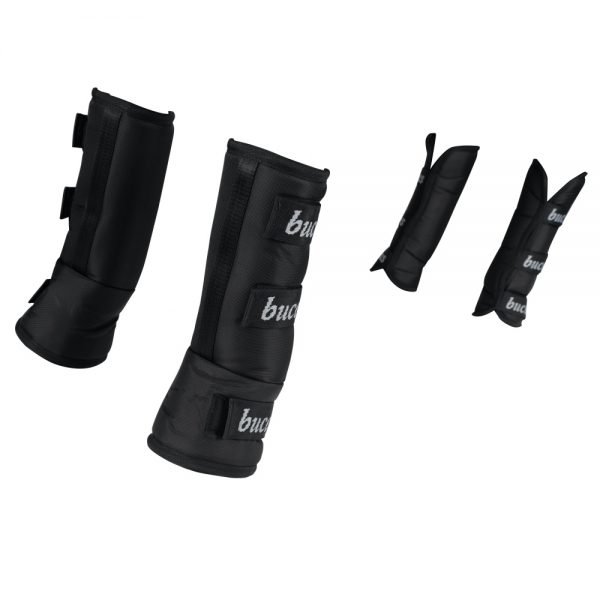 Bucas-Three-Quarter-Travel-Boots-Black