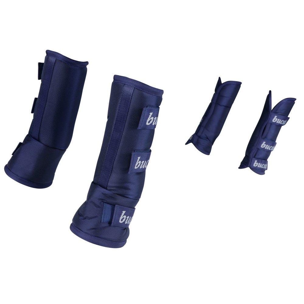 Bucas-Three-Quarter-Travel-Boots-Navy