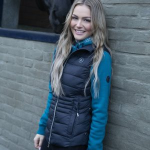 Cavallo-Ramana-Petrol-Dark-Blue-Ladies-Gilet-Lifestyle