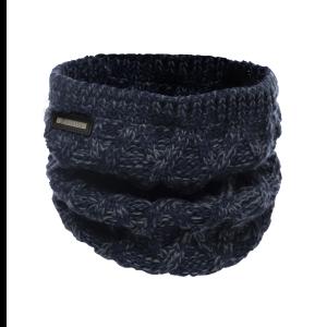 Cavallo-Rami-Ladies-Knitted-Neck-Warmer-Loop-Darkblue