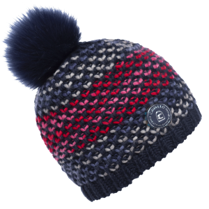 Cavallo-Reiko-Ladies-Knitted-Hat-Darkblue-Mix