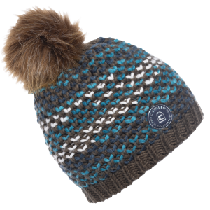 Cavallo-Reiko-Ladies-Knitted-Hat-Truffle-Mix