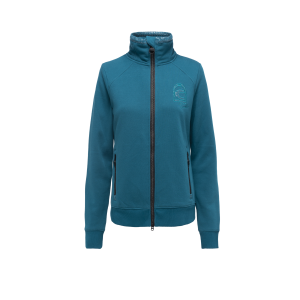Cavallo-Renna-Ladies-Sweat-Jacket-Studio-Image-Petrol-2