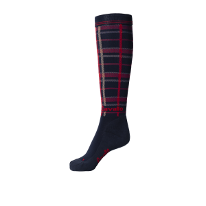 Cavallo-Sea-Socks-Darkblue-Check