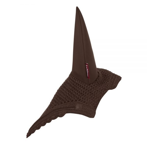 LeMieux-Acoustic-Pro-Fly-Hood-Brown-2