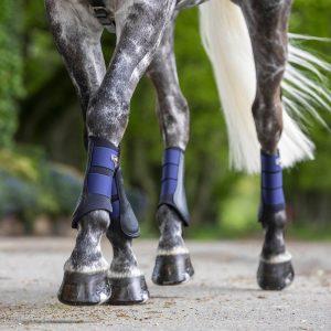 LeMieux-Grafter-Brushing-Boots-Ink-Blue-Lifestyle