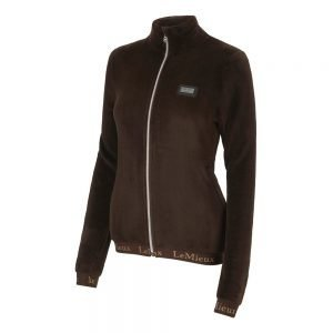 LeMieux-Liberte-Fleece-Jacket-Mocha-2