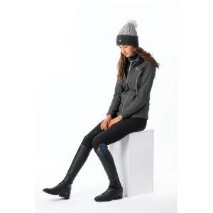 LeMieux-Madrisa-Fleece-Jacket-Grey-Lifestyle