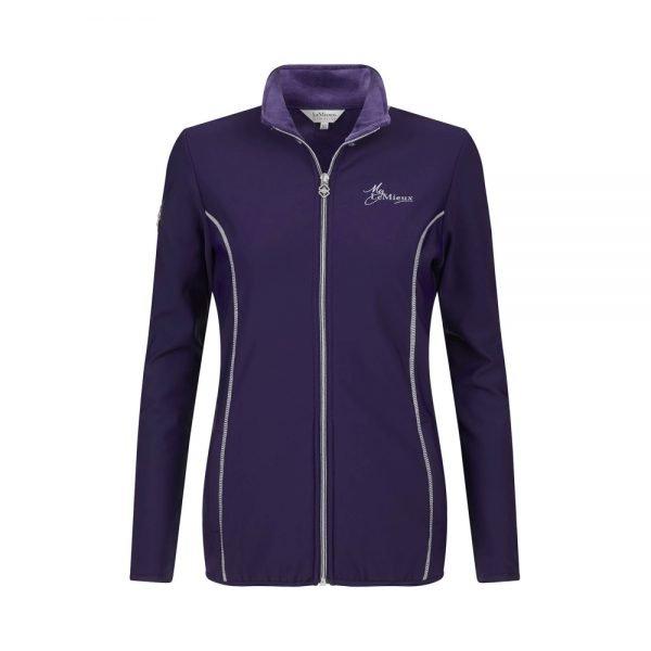 LeMieux-Madrisa-Fleece-Jacket-Ink-Blue-1