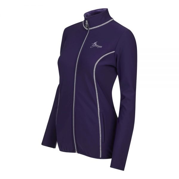 LeMieux-Madrisa-Fleece-Jacket-Ink-Blue-2