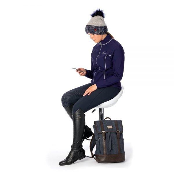 LeMieux-Madrisa-Fleece-Jacket-Ink-Blue-Lifestyle
