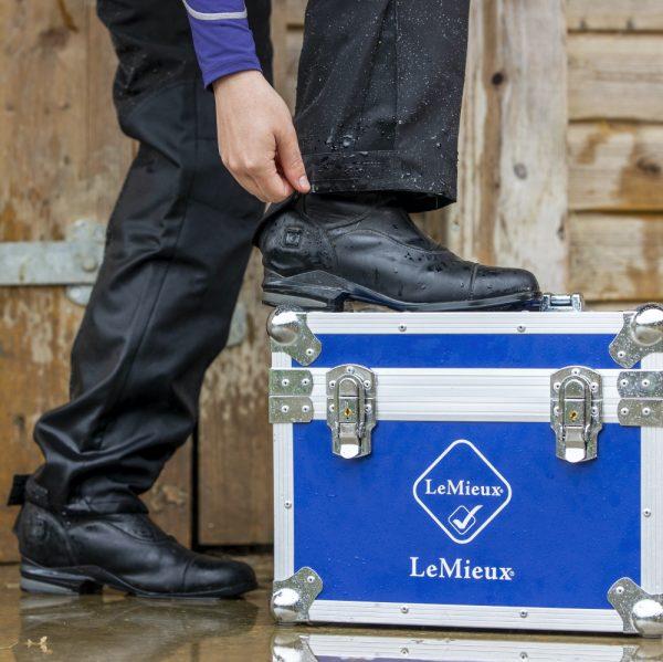 LeMieux-Stormwear-Waterproof-Over-Trousers-Black-Lifestyle-2