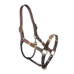 Pampeano-Pampa-Leather-Headcollar-Brown-Cream