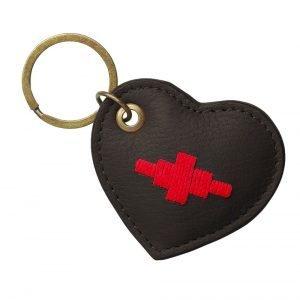 Pampeano-Vida-Heart-Key-Ring-Brown-2