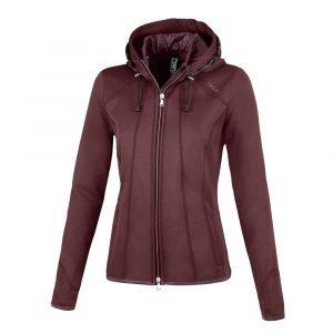 Pikeur-Janny-Ladies-Functional-Sweat-Jacket-Light-Aubergine