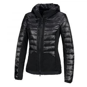 Pikeur-Leyla-Ladies-Hybrid-Quilted-Jacket-Black-Front