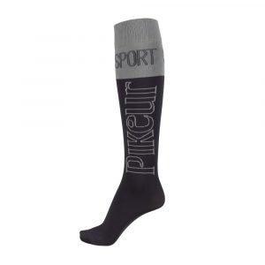 Pikeur-Tube-Socks-Anthracite-Grey-Anthracite