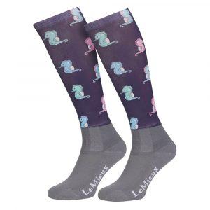 LeMieux-Footsie-Socks-Seahorses