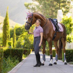 LeMieux-Suede-Saddle-Pad-Musk-Lifestyle-Image-3