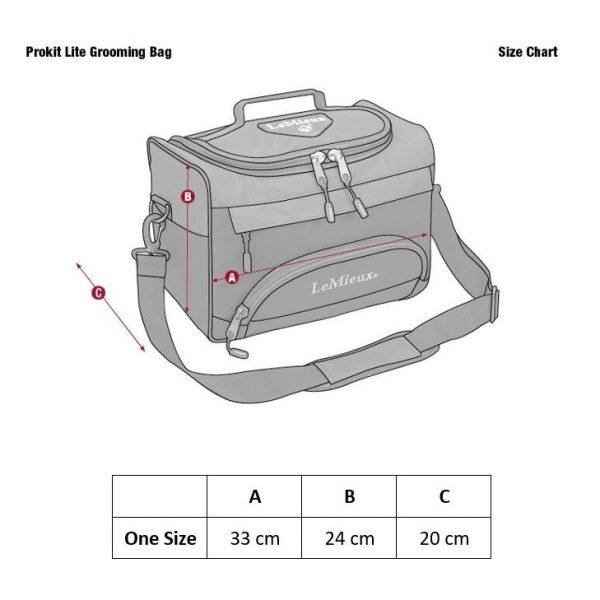 ProKit Lite Grooming Bag Size Guide