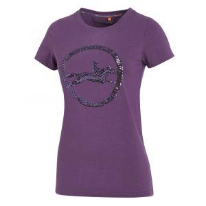Schockemohle-Lola-Style-Ladies-Round-Neck-T-Shirt-Mauve