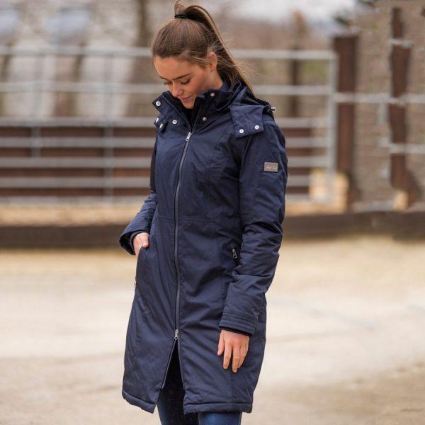 Mark-Todd-Ladies-Waterproof-Performance-Long-Coat-Navy-2