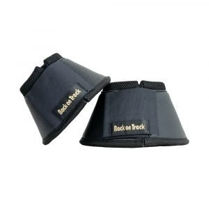 Back-on-Track-Equine-Bell-Boots-Classic-Black-1
