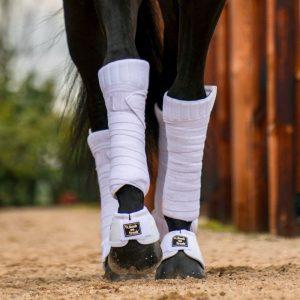 Back-on-Track-Equine-Scandic-PK-Bandage-Linings-Wraps-White-3