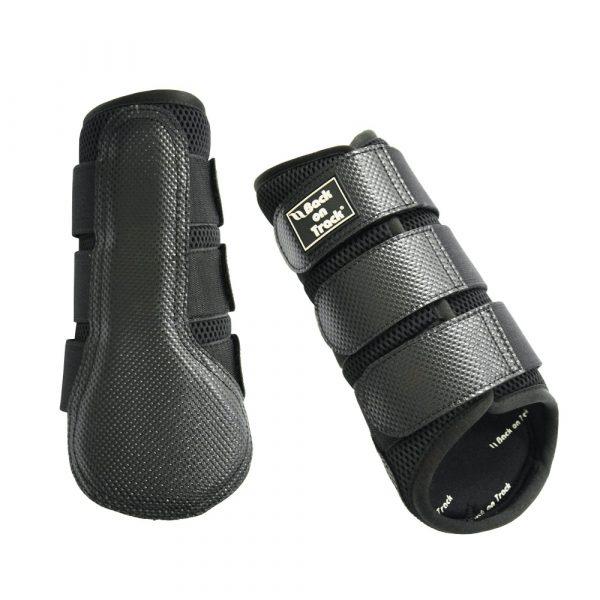 Back-on-Track-Neoprene-Mesh-Brushing-Boots-Black-1