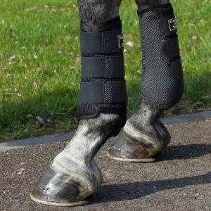 Back-on-Track-Neoprene-Mesh-Brushing-Boots-Black-2