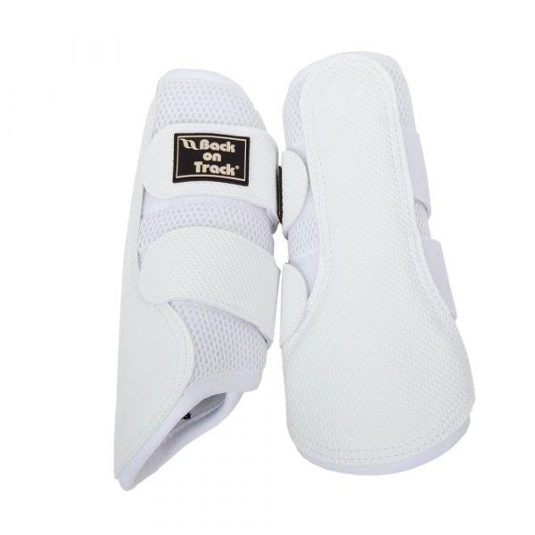 Back-on-Track-Neoprene-Mesh-Brushing-Boots-White-1