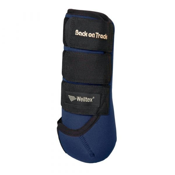 Back-on-Track-Opal-Exercise-Wraps-Boots-Blue