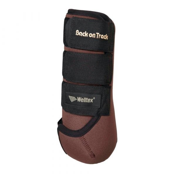 Back-on-Track-Opal-Exercise-Wraps-Boots-Brown