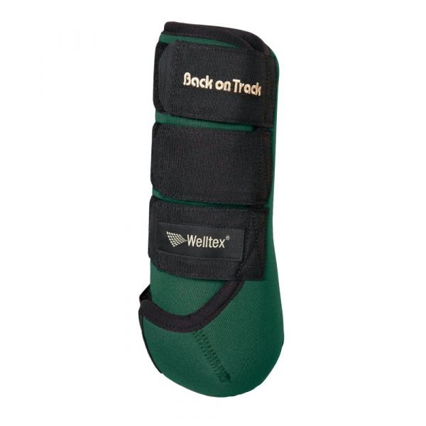 Back-on-Track-Opal-Exercise-Wraps-Boots-Green
