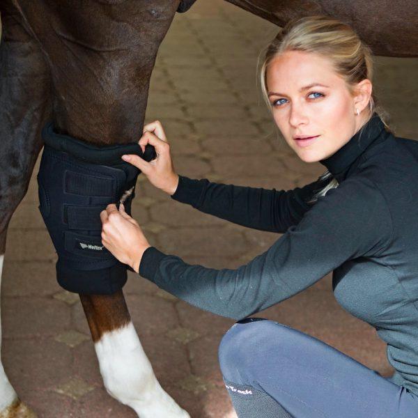 Back-on-Track-Royal-Hock-Boots-Black-Lifestyle-2