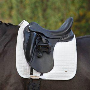 Back-on-Track-Saddle-Pad-Dressage-No1-White-Lifestyle
