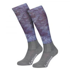 LeMieux-Glace-Socks-Navy