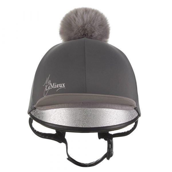 LeMieux-Hat-Silk-Slate-Grey-1