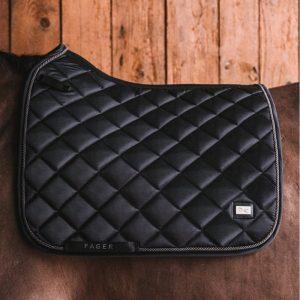 Fager-Dressage-Saddle-Pad-Black-4