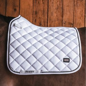 Fager-Dressage-Saddle-Pad-White-3
