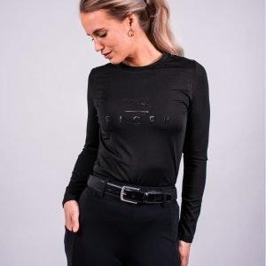 Fager-Elasticated-Leather-Belt-Black-Black-3